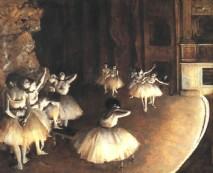 + DETALHES DA OBRA Ensaio de um balet no palco