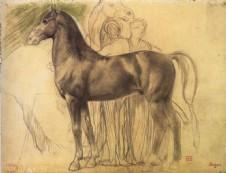 + DETALHES DA OBRA Estudo de cavalo com fuguras