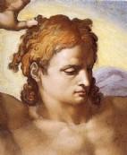 + DETALHES DA OBRA O Último Julgamento(Detalhe do Rosto do Cristo)