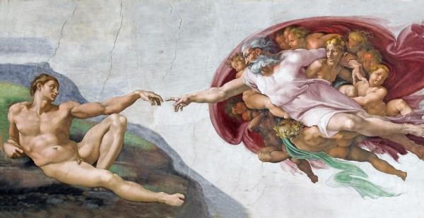 CLIQUE PARA AMPLIAR A OBRA Criação de Adão