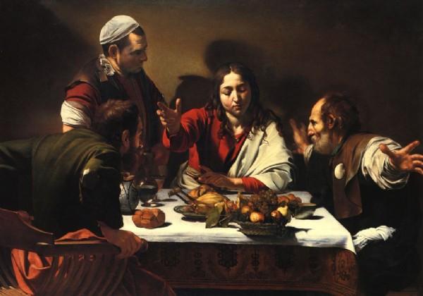 CLIQUE PARA AMPLIAR A OBRA O Cristo em Emmaus