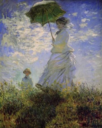 CLIQUE PARA AMPLIAR A OBRA Madame Monet