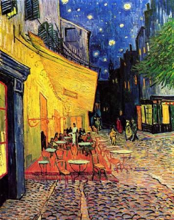 CLIQUE PARA AMPLIAR A OBRA Terra�o do Caf� em Arles