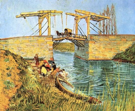 CLIQUE PARA AMPLIAR A OBRA A Ponte Elevadiça em Arles