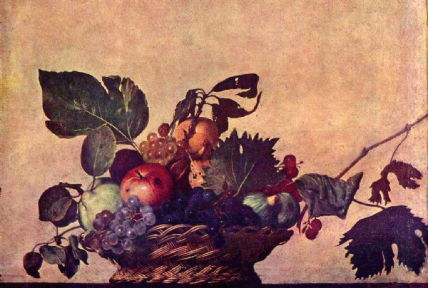 CLIQUE PARA AMPLIAR A OBRA Cesta de Frutas