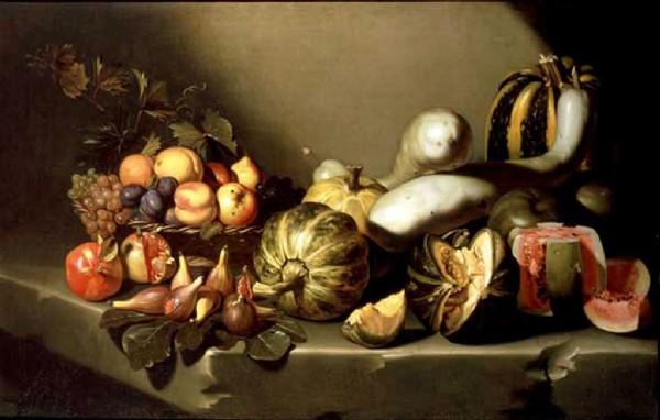 CLIQUE PARA AMPLIAR A OBRA Mesa com Frutas