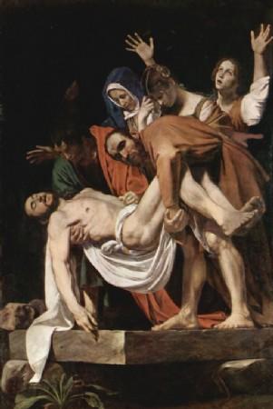 CLIQUE PARA AMPLIAR A OBRA O Enterro de Cristo