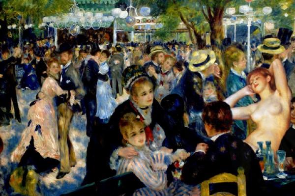 CLIQUE PARA AMPLIAR A OBRA Renoir + Renoir (Festa com mulher nua)
