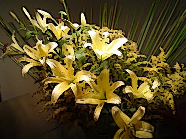 CLIQUE PARA AMPLIAR A OBRA Flores sobre a mesa