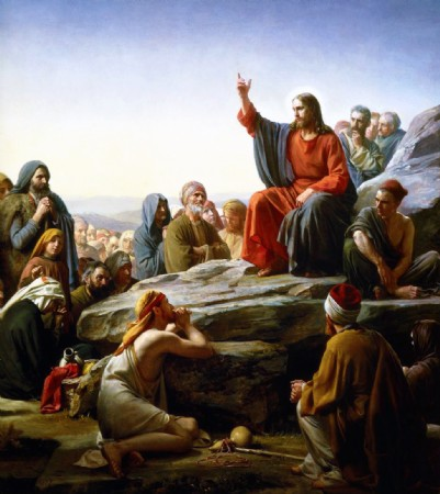 CLIQUE PARA AMPLIAR A OBRA O Sermão da Montanha