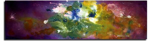 CLIQUE PARA AMPLIAR A OBRA Flores Nebulosas