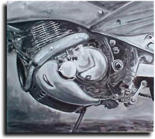 CLIQUE PARA AMPLIAR A OBRA Detalhe Motor