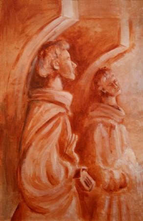 CLIQUE PARA AMPLIAR A OBRA Sob o Altar